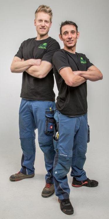 Die Firmengründer Christian Richter und Benjamin Panzer